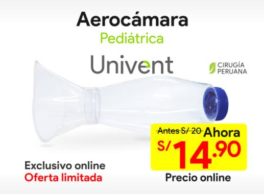 Aerocámara Pediátrica