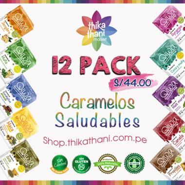 QIWA PACK DE CARAMELOS SALUDABLES