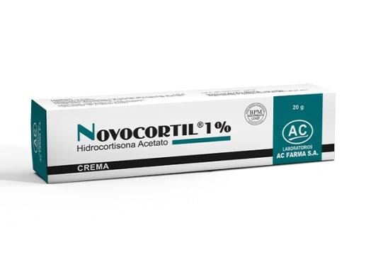 NOVOCORTIL 1 % CREMA x 20 g - HIDROCORTISONA (Caja x 01 Tubo)