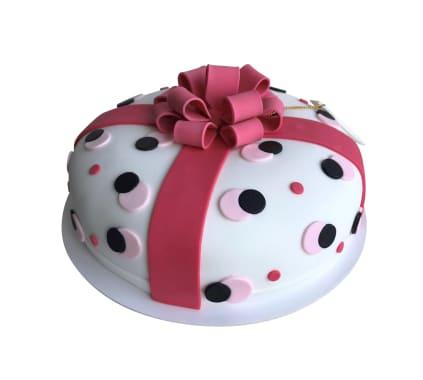 Torta Mini Regalo Rosa