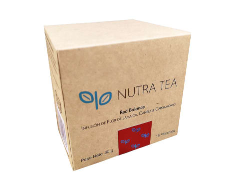 INFUSION RED BALANCE 15 UNID NUTRA TEA
