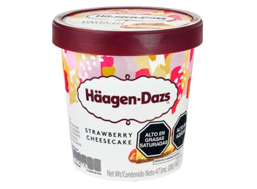HAAGEN-DAZS CHEESE CAKE DE FRESA
