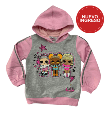 POLERA NIÑA LOL