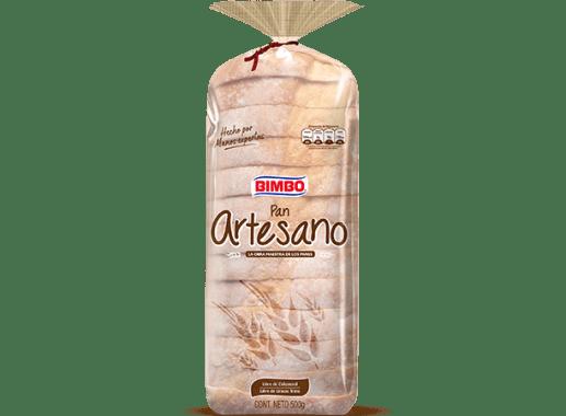 Pan Artesano Blanco 500gr