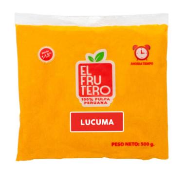 PULPA DE LUCUMA 500G EL FRUTERO