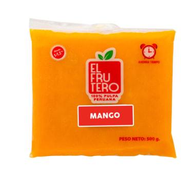PULPA DE MANGO 500G EL FRUTERO
