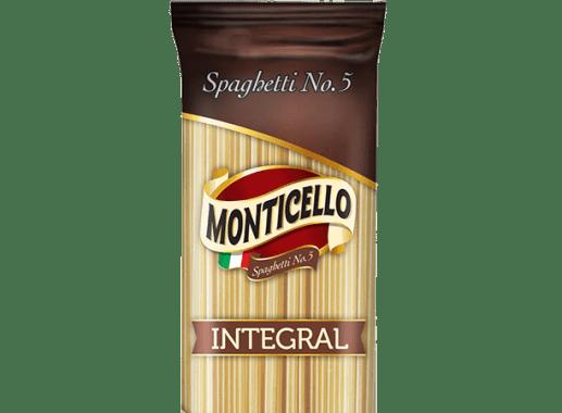 Spaghetti Monticello Integral X 500gr