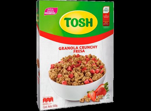 Cereal  Tosh Fresa  500gr