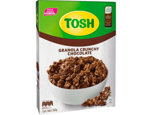 Cereal Tosh Chocolate 500gr