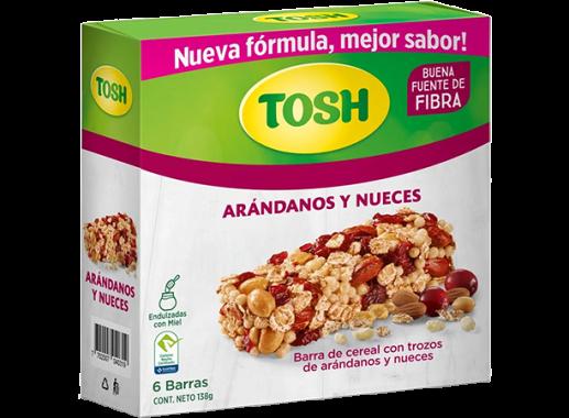 Barra Cereal Tosh Arándanos 138gr