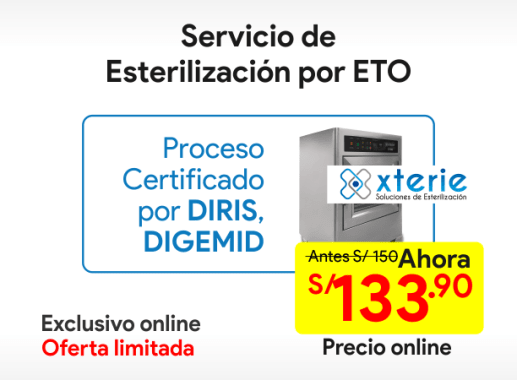 Servicio de esterilización con ETO