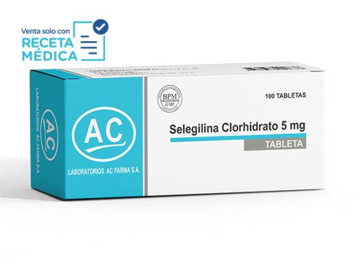 SELEGILINA CLORHIDRATO 5 mg - SELEGILINA (Caja x 100 Tabletas)