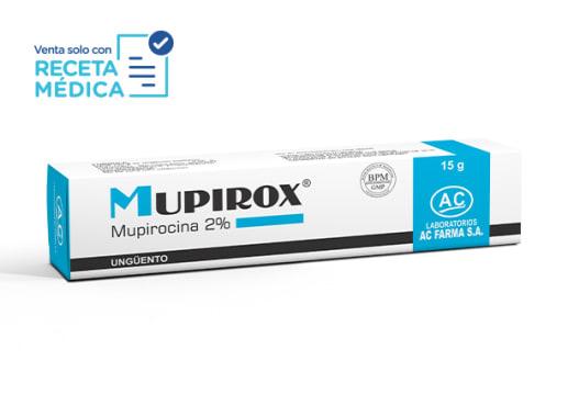 MUPIROX 2 % UNGÜENTO x 15 g - MUPIROCINA (Caja x 01 Tubo)