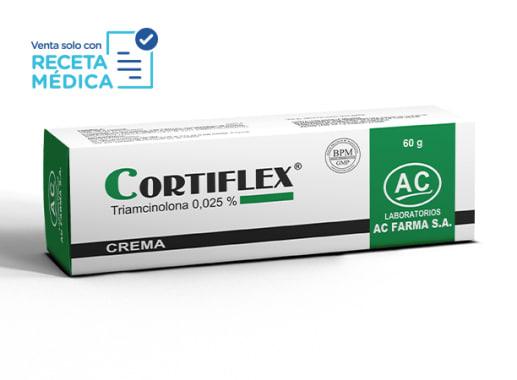 CORTIFLEX 0,025 % CREMA 60 g - TRIAMCINOLONA (Caja x 01 Tubo)