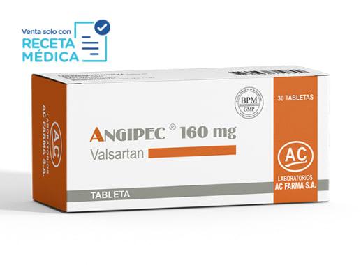 ANGIPEC 160 mg  - VALSARTAN (Caja x 30 Tabletas)