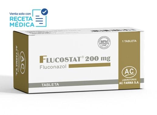FLUCOSTAT 200 mg - FLUCONAZOL (Caja x 01 Tableta)
