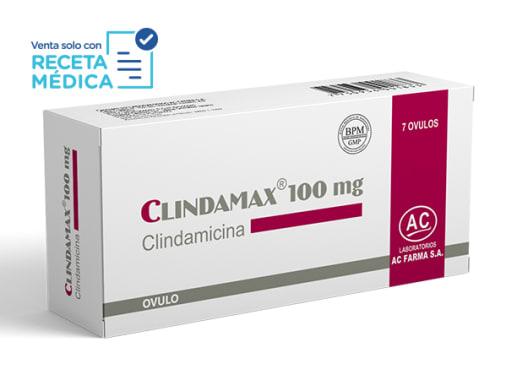 CLINDAMAX 100 mg  - CLINDAMICINA (Caja x 07 Óvulos)