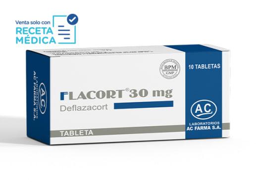 FLACORT 30 mg - DEFLAZACORT (Caja x 10 Tabletas)
