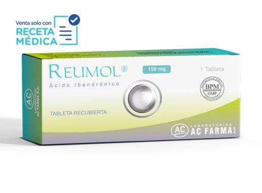 REUMOL 150 mg - ACIDO IBANDRONICO (Caja x 01 Tableta)