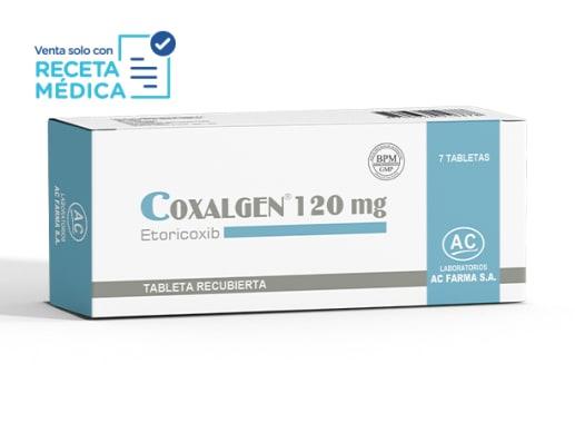 COXALGEN 120 mg - ETORICOXIB (Caja x 07 Tabletas)