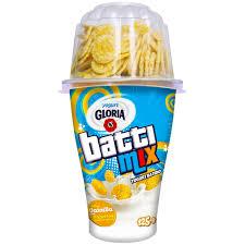 Yogurt Battimix Vainilla con Hojuelas Azucaradas - Gloria