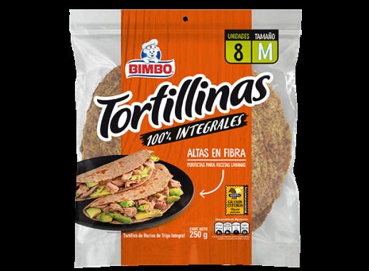 Tortillinas  Integrales Bimbo X 250gr