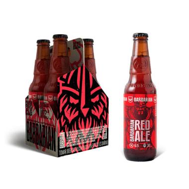 Cerveza Artesanal Red Ale - Barbarian