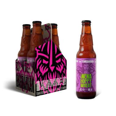 Cerveza Artesanal La Nena Hoppy Wheat - Barbarian