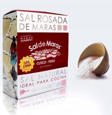 SAL DE MARAS GRANO FINO CAJA 600G TDM
