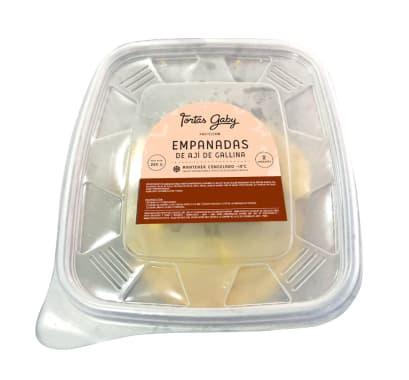 Empanadas grandes de Pollo con Ají amarillo (Congeladas)