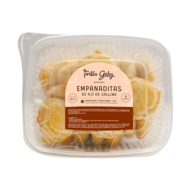 Empanadas chicas de Pollo con Ají amarillo (Congeladas)