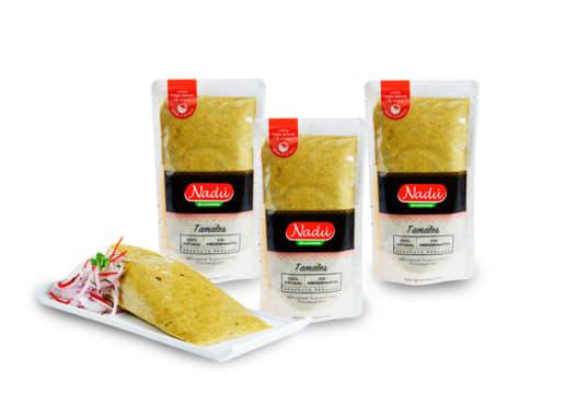 Pack x3 tamales verdes