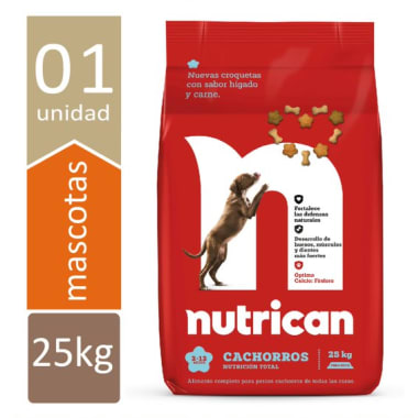 NUTRICAN CACHORROS 25Kg