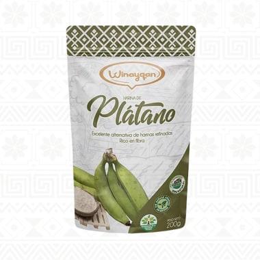 HARINA DE PLATANO 200G WINAYQAN