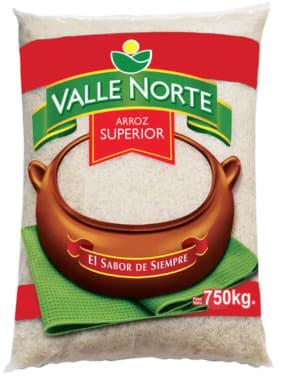 ARROZ SUPERIOR VALLE NORTE 750GR