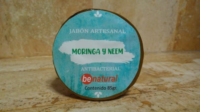 JABON DE MORINGA Y NEEM 85G BE NATURAL