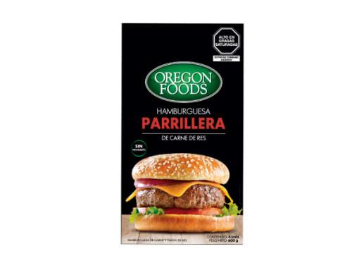 HAMBURGUESAS PARRILLERA DE RES
