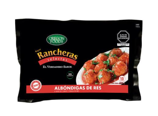 ALBONDIGAS DE RES SUPER RANCHERAS