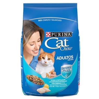Alimento seco gatos adultos pescado Purina Cat Chow