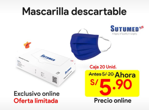 Mascarilla Descartable