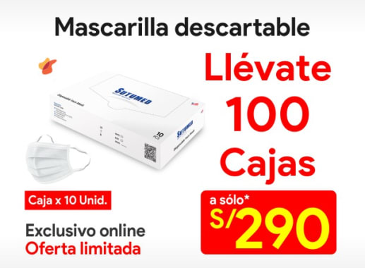 Mascarilla Descartable (100 cajas)