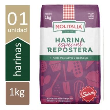 Harina Molitalia Selecta 1 Kg