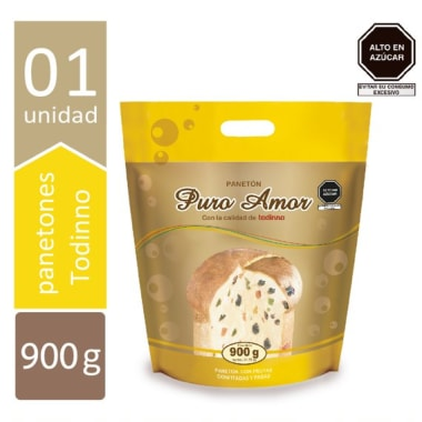 PANETON PURO AMOR X 900GR