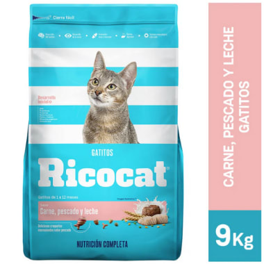 Alimento para gatitos Ricocat