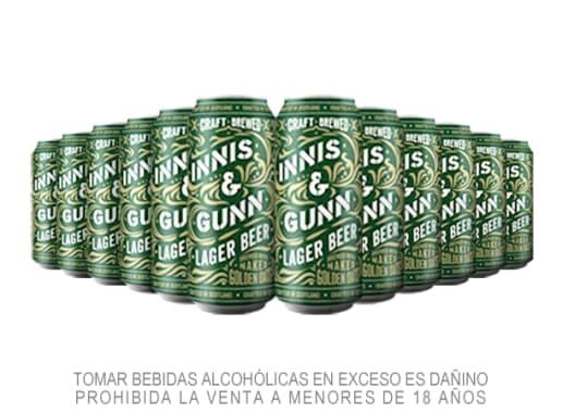 12 Pack Cerveza Innis Lager Lata