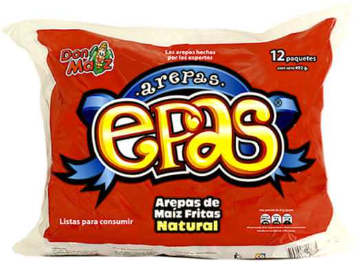 Arepas Epas Don Maiz x 6 246gr