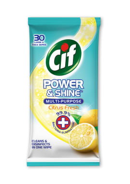 CIF Paños Multiusos Antibacterial Citrus Fresh
