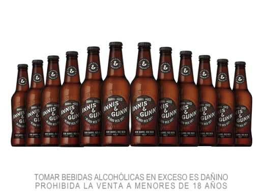 12 Pack Cerveza Innis & Gunn Blood Red Sky 330 ml