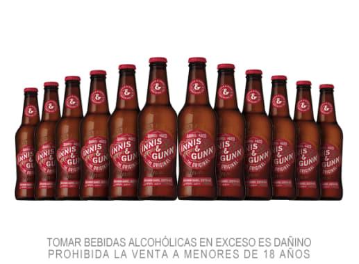 12 Pack Cerveza Innis & Gunn Original 330 ml