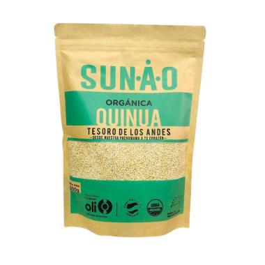 Quinua Orgánica en granos Sunao